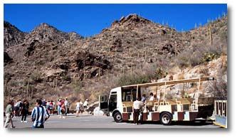 sabino canyon recreation area tucson az desertusa. Black Bedroom Furniture Sets. Home Design Ideas