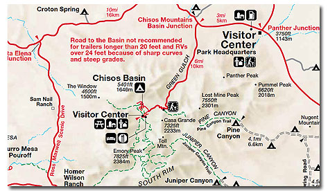 Big Bend National Park: Climate, Map, Geography - DesertUSA