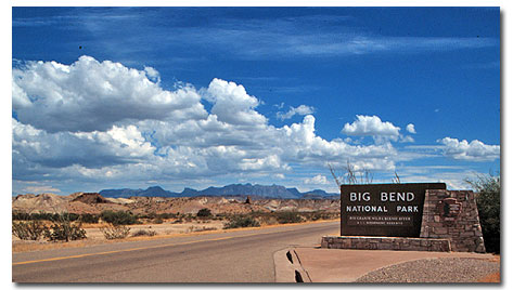 Big Bend National Park DesertUSA - Big bend national park map us