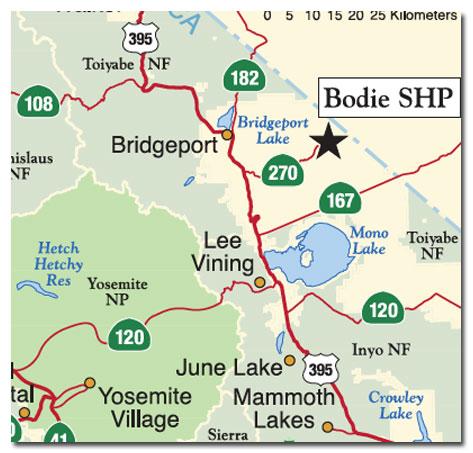Bodie State Historic Park, CA - DesertUSA