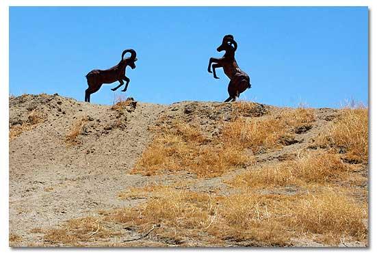 Metal Sculptures Of Borrego Springs Ca Ricardo Breceda