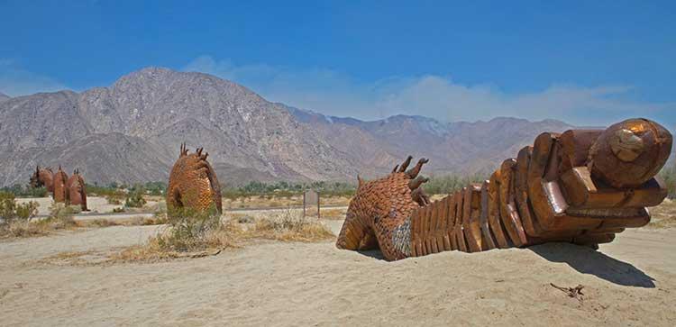 Metal Sky Art Sculptures of Borrego Springs, CA - Ricardo
