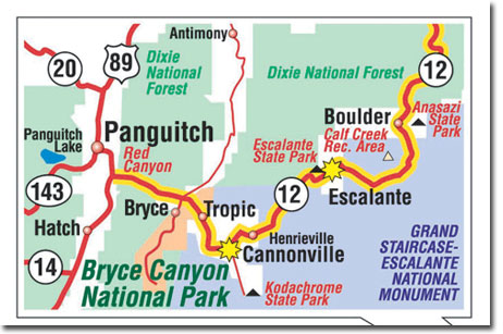 Bryce Canyon National Park: Climate, Geography, Map DesertUSA