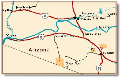 Street Map Of Yuma Arizona.Yuma California Map