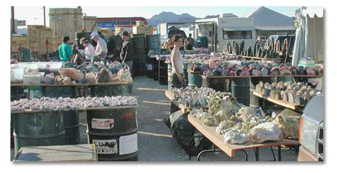 Quartzsite, Arizona - Rock and Gem Show Events Calendar ...