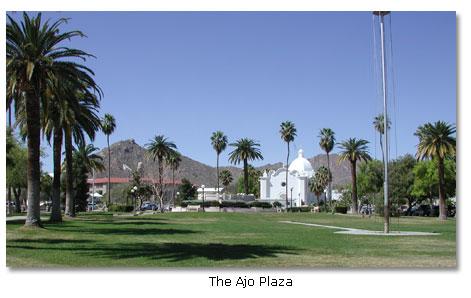 Ajo Arizona Map Ajo, Arizona   DesertUSA