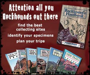 Outdoor Recreation: Rockhounding, Treasure Hunting, Gold Prospecting