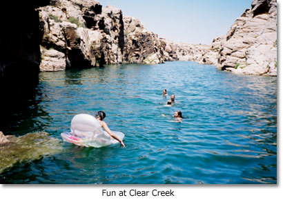Fun at Clear Creek