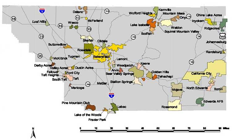 Northern California Map Of Mountain Ranges.Mojave California Desertusa