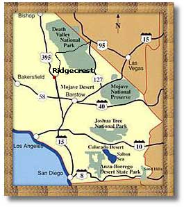 Ridgecrest California DesertUSA - El paso california