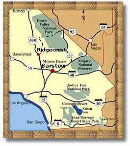 Barstow California Map Barstow, California   DesertUSA