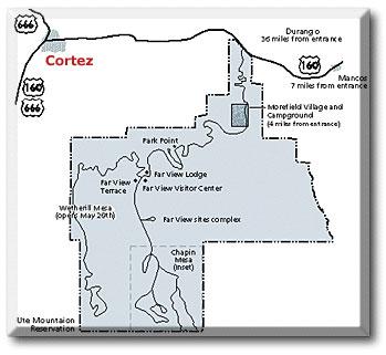 Cortez Colorado  DesertUSA