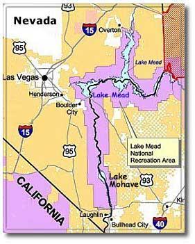 Lake Mohave Part Of Lake Mead Nra Desertusa