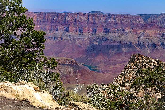 colorado river water in the desert desertusa