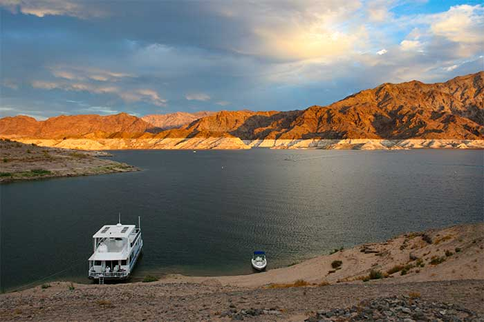 Lake Mead Located In Lake Mead National Recreation Area