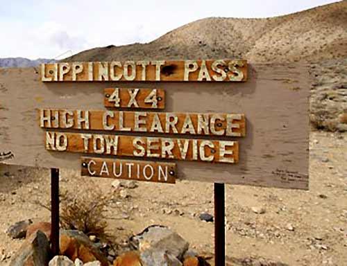 4-Wheeling the Lippincott Mine Road in Death Valley - DesertUSA