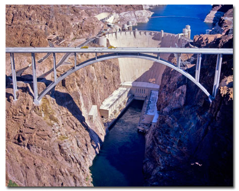 Hoover Dam Bridge - Mike O'Callaghan-Pat Tillman Memorial