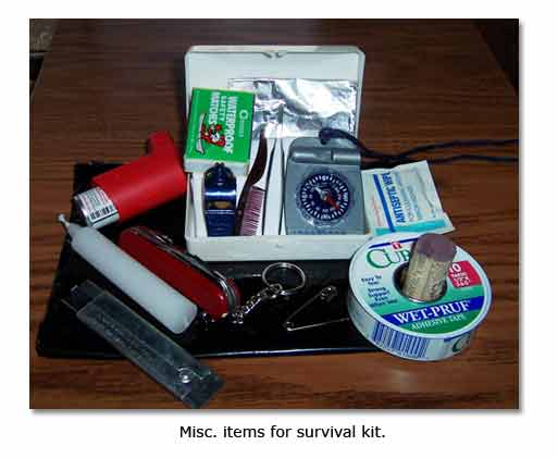 Important survival items?