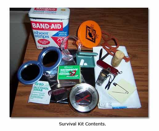 Survival Kit for Desert Travel - DesertUSA