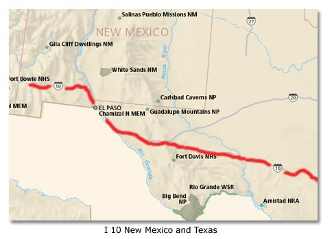 Interstate highway system history - DesertUSA