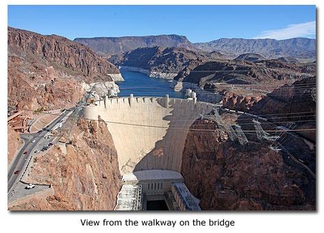 Hoover Dam Bridge - Mike O'Callaghan-Pat Tillman Memorial Bridge ...