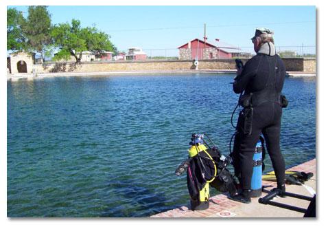 Balmorhea state park texas desertusa for Texas non game fish