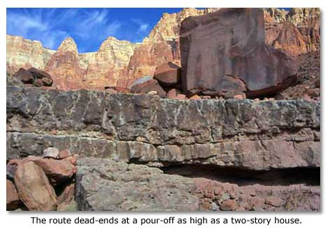 Two Grand Canyon Area Hikes Cathedral Wash - DesertUSA