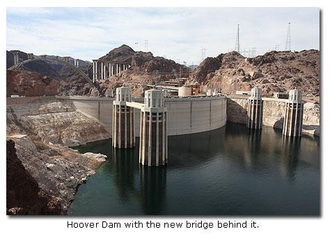 Hoover Dam Bridge - Mike O'Callaghan-Pat Tillman Memorial Bridge