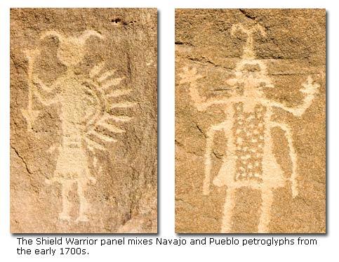 Navajo Rock Art and Pueblitos - DesertUSA