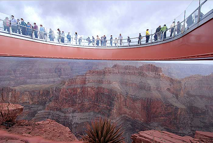 Grand Canyon Skywalk Information And Pos