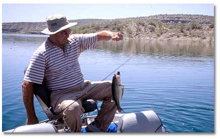 Fishing Lake Pleasant - DesertUSA