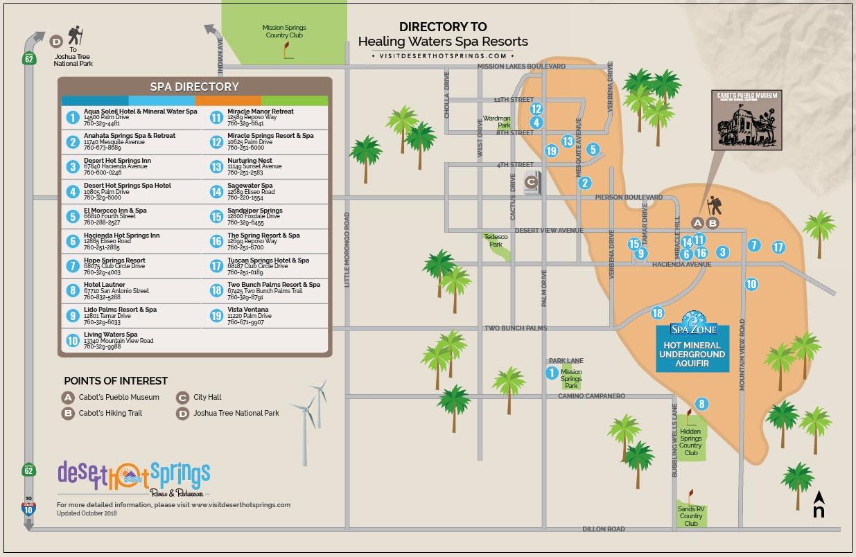 Desert Hot Springs - California's Spa City - DesertUSA