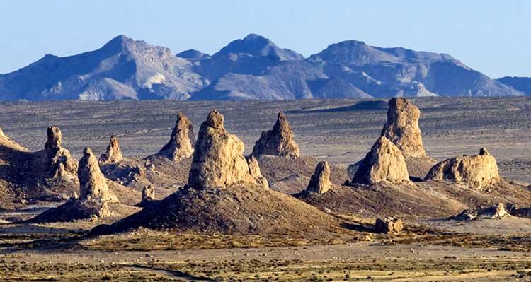 Trona Pinnacles Tufa Towers Desertusa