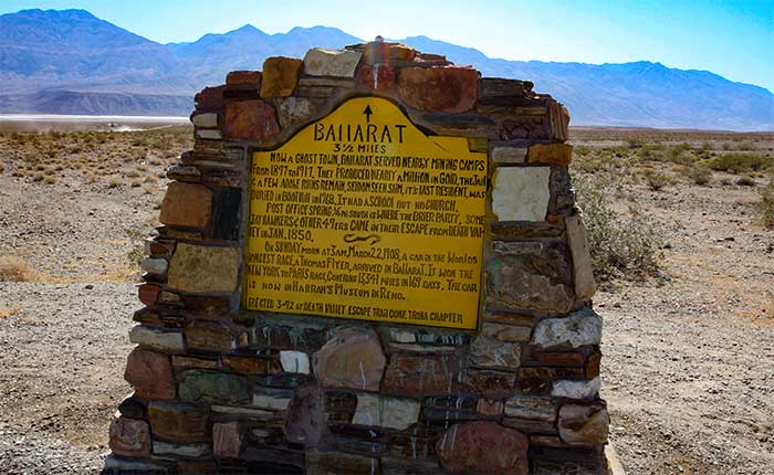 Death Valley Ghost Towns