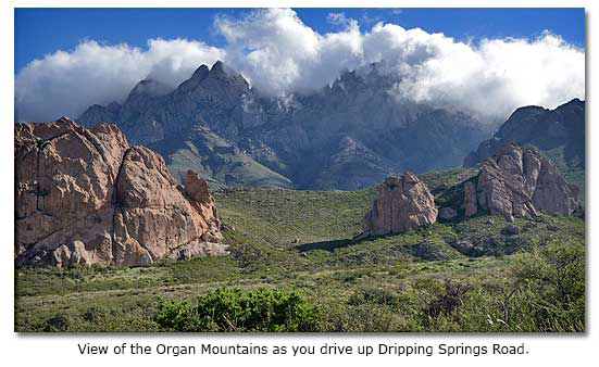 dripping springs in new mexico desertusa