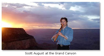 Scott August at the Grand Canyon