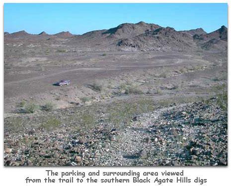 Black Agate Hills - Geode Bed - Colorado Desert - rockhounds