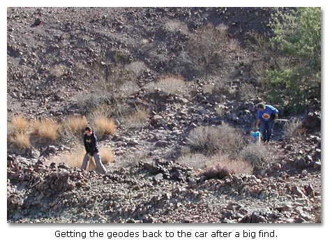 Rockhounds and rocks - DesertUSA
