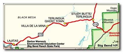 Big bend national park global treasure desertusa for Big bend motor lodge study butte tx