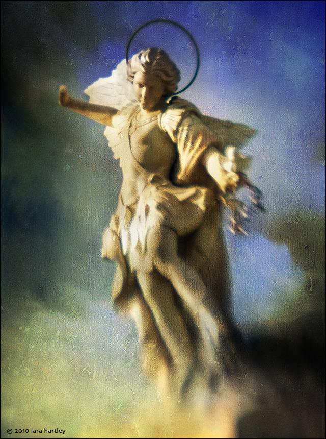 Avenging Angel -- Calvary Cemetery.