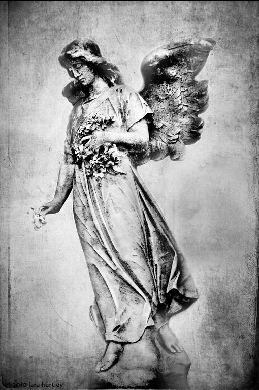 Silver Angel -- Inglewood Park Cemetery, Inglewood, Calif.