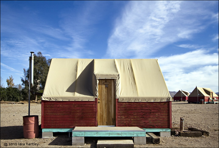 Nippeno Camp tent cabins