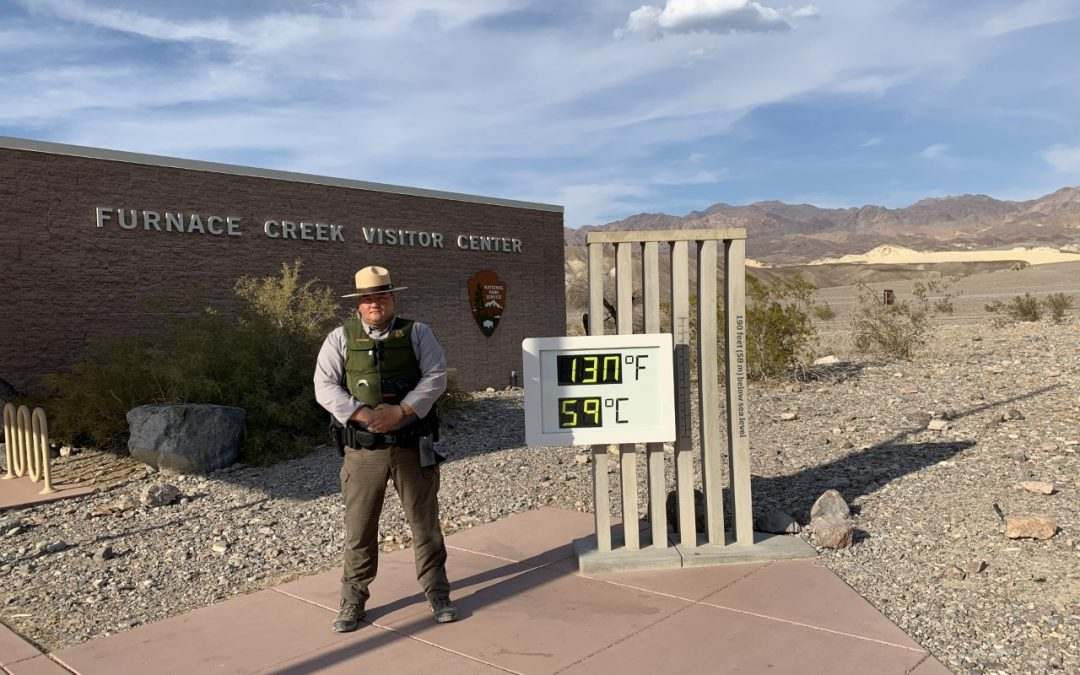 Hottest temperature recorded on Earth in nearly 100 years at Death Valley Aug 16th
