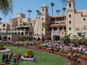 Visit www.dmtc.com for more information about Del Mar Race Track.