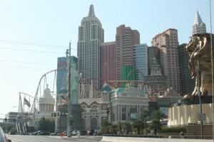 New York, New York on the Vegas Strip.
