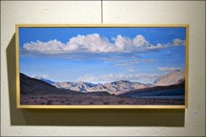 This painting by Mary-Austin Klein is the main reason we went to the artists' opening reception.