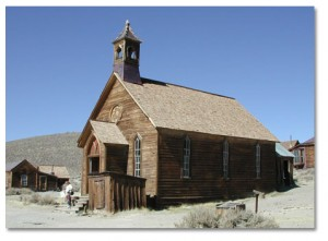 Church at Bodie.