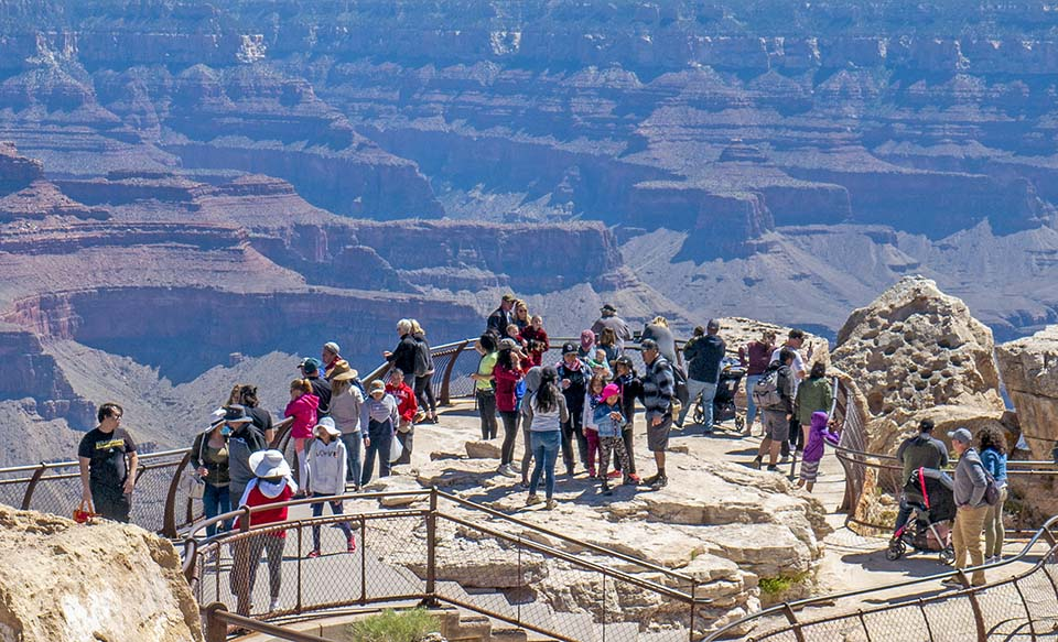 Grand Canyon National Park Rangers Recover Body Below Mather Point on July 3