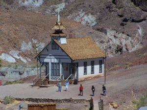 Old School House at Calico