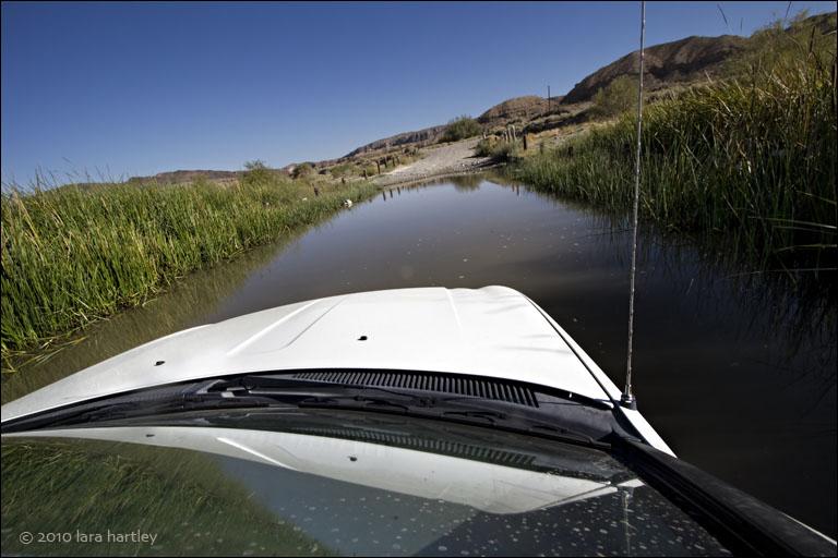 Cars cannot swim